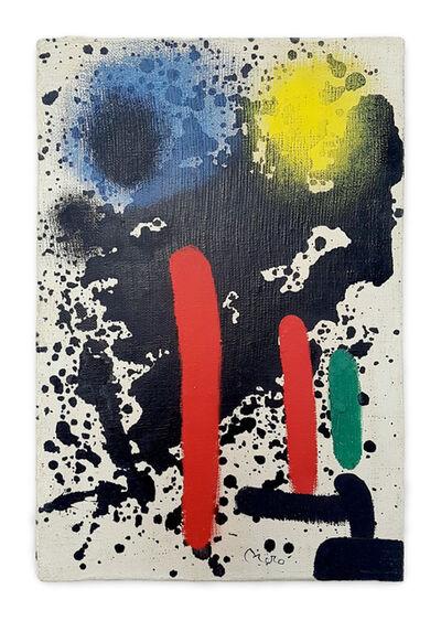 Joan Miró, 'Peinture I', 1969