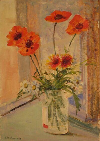 Aleksandr Nikiforovich Chervonenko, 'Flowers', 1980