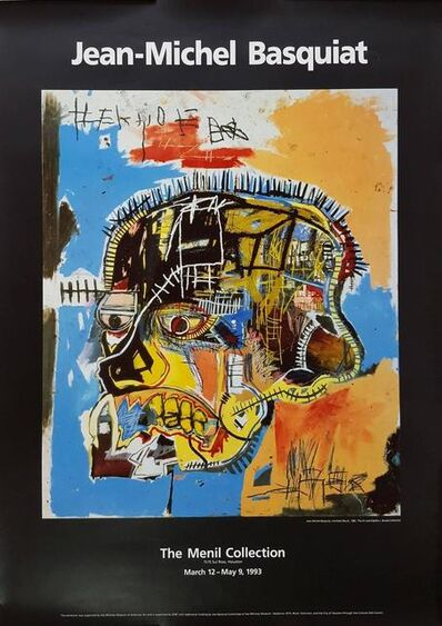 Jean-Michel Basquiat, 'Untitled (Skull)', 1993