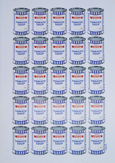 Banksy, 'Tesco Tomato Soup', 2006