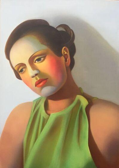 Chen Ke 陈可, 'Bauhaus Girl No.4 (包豪斯女孩 No.4)', 2020