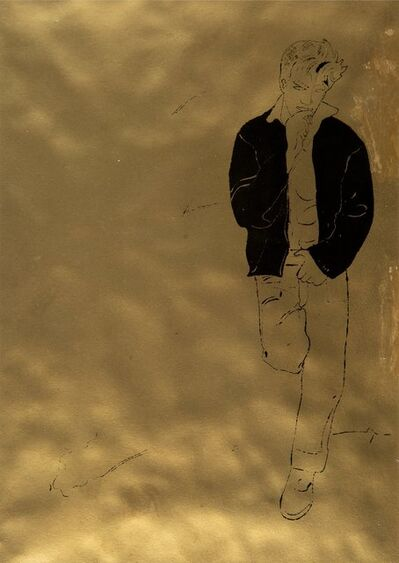 Andy Warhol, 'Untitled, from A Gold Book', 1957