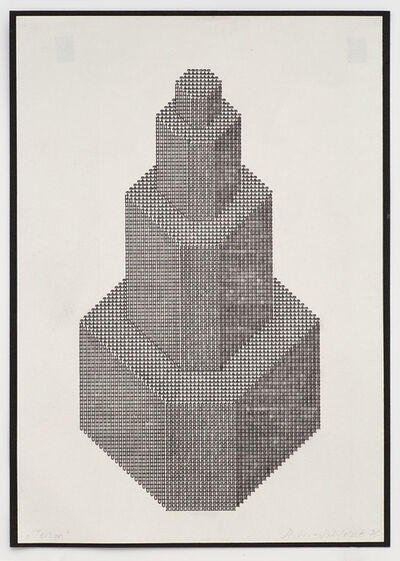 Ruth Wolf-Rehfeldt, 'Turm', 1976
