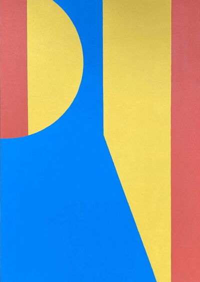 Carl A Alexander, 'Primary Color Geo', 1950-70s