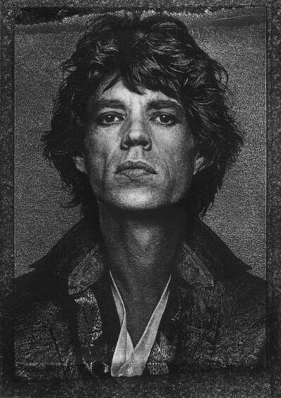 "Albert Watson, '""Mick Jagger, New York, 1985, INK""', 1985"