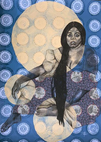 Delita Martin, 'The Moon Now Rises', 2020