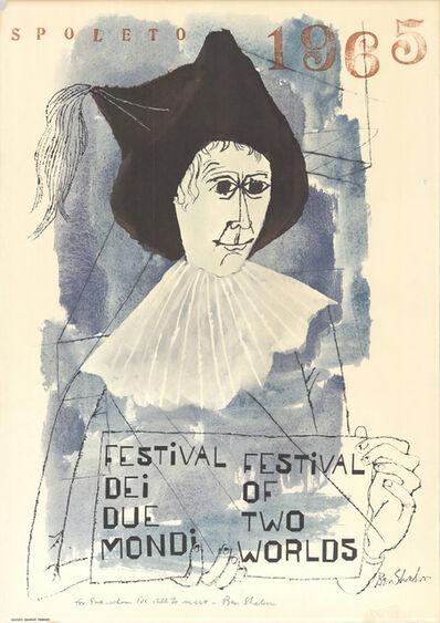 Ben Shahn, 'Spoleto Festival', 1965