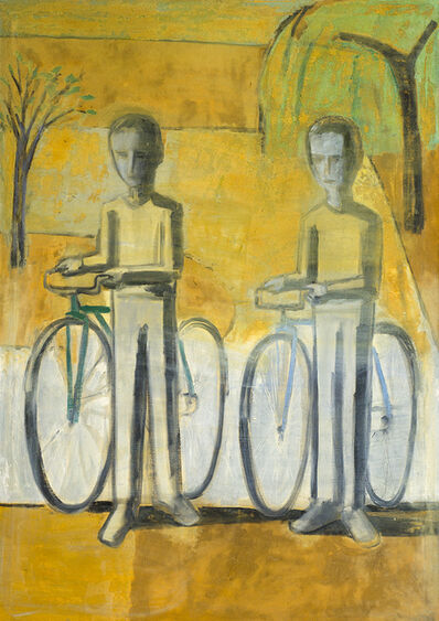 Allen Kubach, 'Boys On Bicycles', 1963
