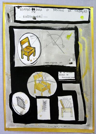 Daniel Murgel, 'Estudo n°2 para Design da Turbação [Study n°2 for Design of Disturbance]', 2015