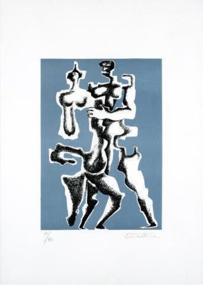 Ossip Zadkine, 'Composition au personnage'
