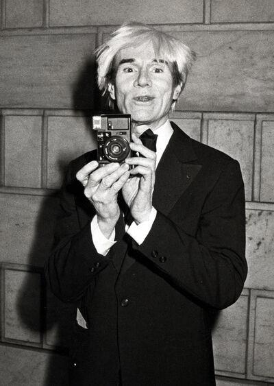 Ron Galella, 'Andy Warhol, New York', 1985