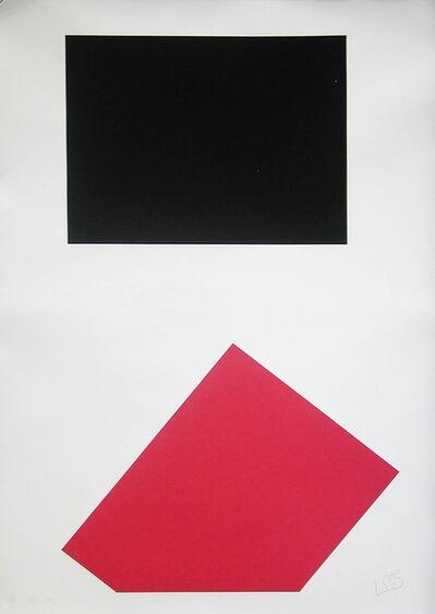 Leon Polk Smith, 'werkübersicht 1946 - 1986 – print no. 10', 1987
