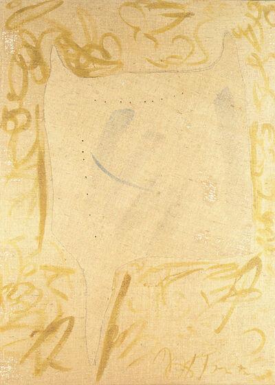 Lucio Fontana, 'Concetto Spaziale, Forma', 1958