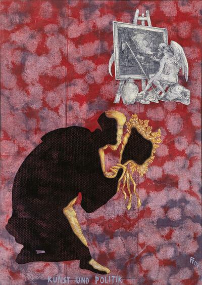 Jörg Immendorff, 'Kunst und Politik', 2004
