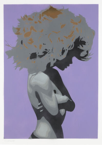 Bungle, 'Silk or Satin (Purple)', 2013