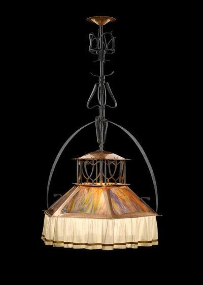 Gustave Serrurier-Bovy, 'Hanging lamp', 1899