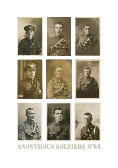 Tom Phillips, 'Anonymous Soldiers WW1', Unknown