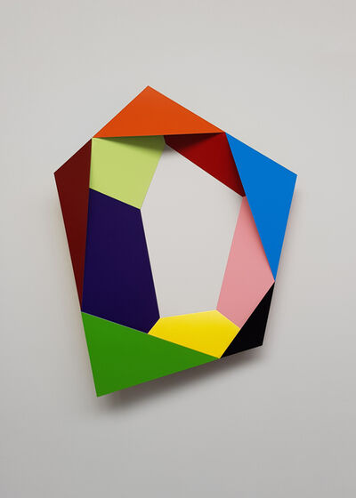 Beat Zoderer, 'Pentagramm', 2018