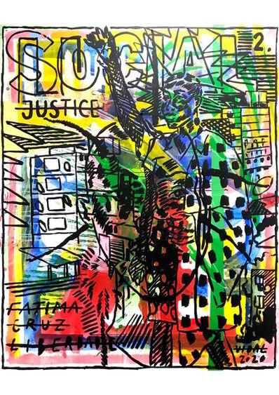 "Francisco Vidal, '""LUUANDA RISING: SOCIAL JUSTICE 02""', 2020"