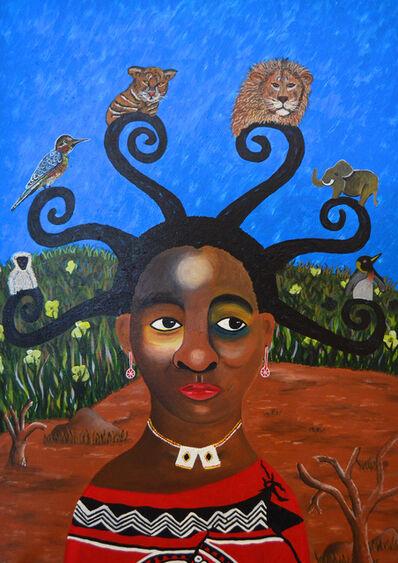 Phindile Mamba, 'Foreigners and emaSwati living together', 2018