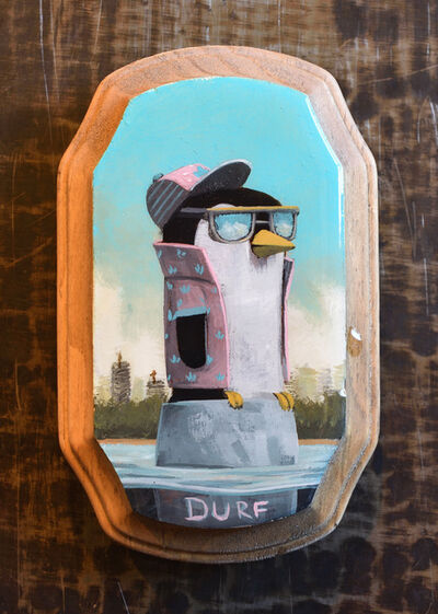 Nathan Durfee, 'Penguin Ready to Party', 2019