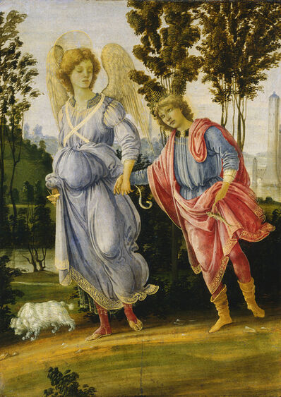 Filippino Lippi, 'Tobias and the Angel', ca. 1475/1480