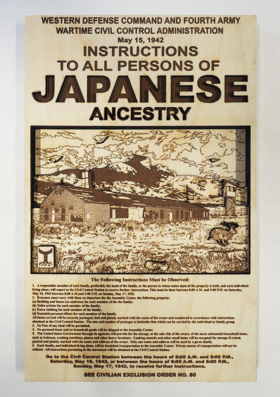 Jave Yoshimoto, 'American Exclusion #80', 2018