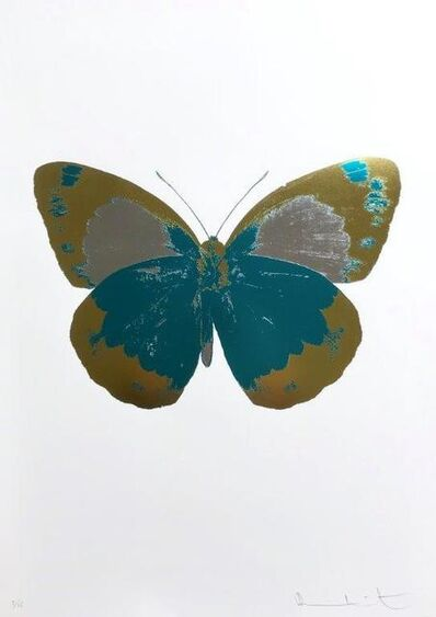 Damien Hirst, 'The Souls II - Turquoise Oriental Gold Silver Gloss ', 2010