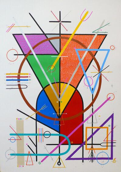 """Sixe Paredes, '""""COSMOVISIÓN 02""""', 2010"""