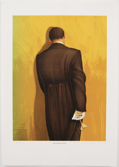 Mark Stock, 'Butler in Love (Gold)', 2001