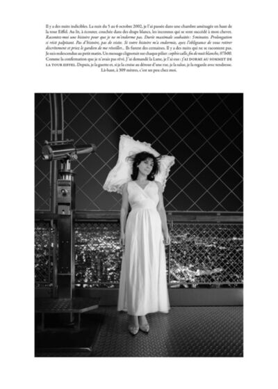 Sophie Calle, 'Chambre avec vue / Room with a View'