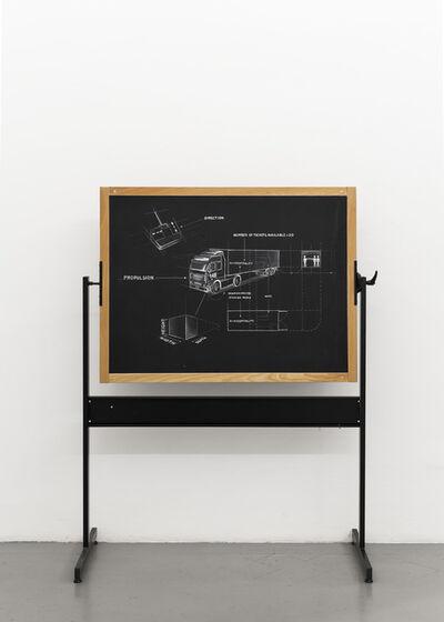 Giuseppe Stampone, 'Cancellami', 2016