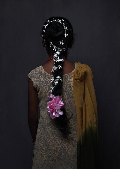 Sofie Knijff, ' Flower girl, Translations Series, Sri Lanka', 2016