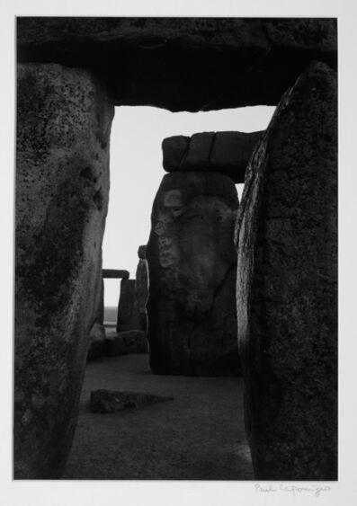 Paul Caponigro, 'Stonehenge, Inner Trilithon', 1970