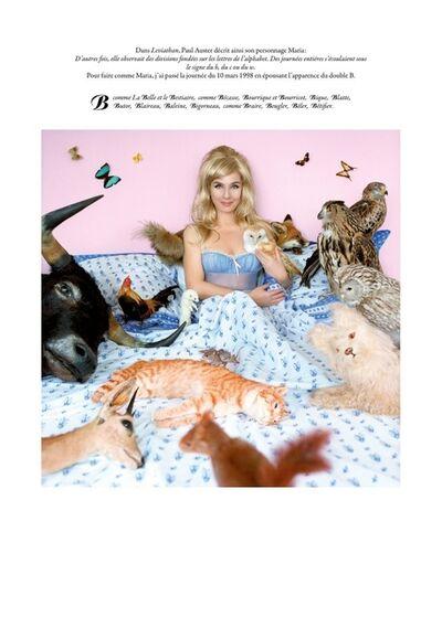 Sophie Calle, 'Des journées entières sous le signe du B, du C, du W'