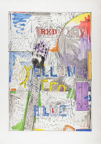 Jasper Johns, 'Land's End', 1978