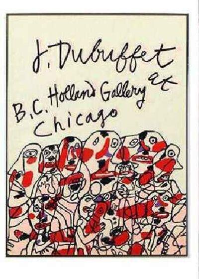 Jean Dubuffet, 'Dubuffet - Holland Gallery Poster', 1976