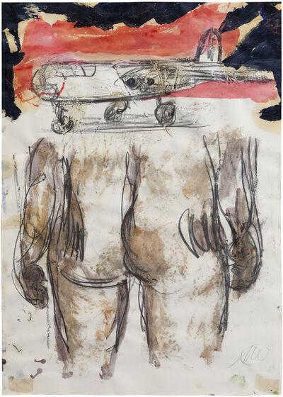 Markus Lüpertz, 'Ohne Titel - Rückenakt (Untitled - Nude from behind)', 2005