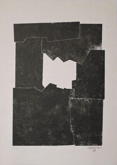 Eduardo Chillida, 'Sakon, 1968', 1968