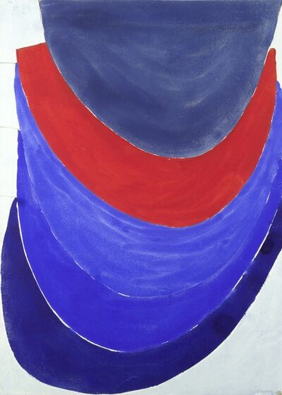 Sir Terry Frost, 'Untitled, Blue and Red', 1968