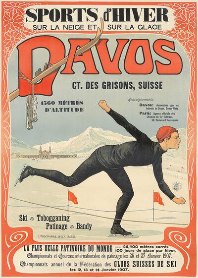 Walter Koch, 'Davos.', 1907