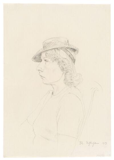 Rudolf Schlichter, '»Frau Erika«', 1939