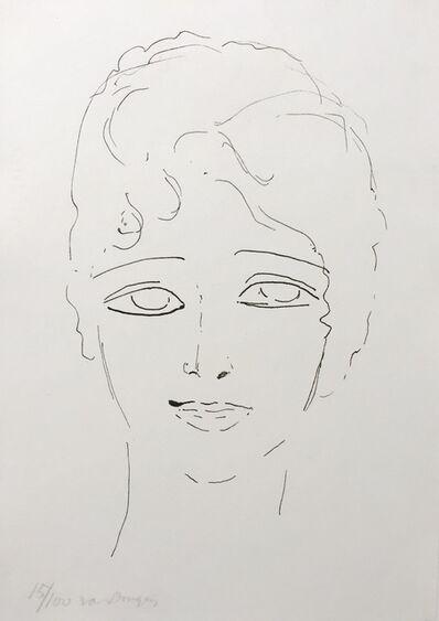 Kees van Dongen, 'Tete de Femme', 1920-1930
