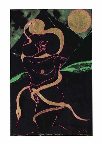 Chris Ofili, 'Afro Lunar Lovers II', 2005