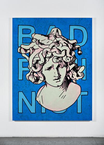 Mieke Marple, 'Bad Feminist (Blue Lace Medusa Bold)', 2019