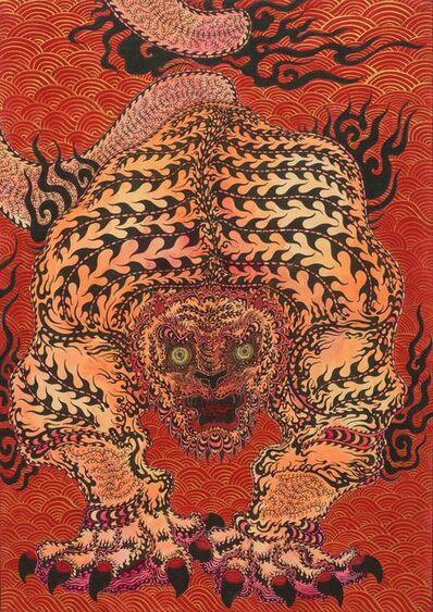 Kaneko Tomiyuki, 'Messenger of Bishamon Temple 4', 2021