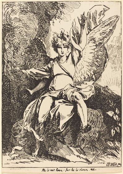 Benjamin West, 'Angel of the Resurrection', 1801