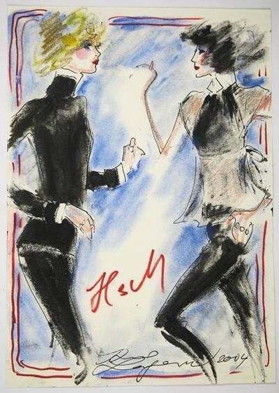 Karl Lagerfeld, 'GIRLS', 2004