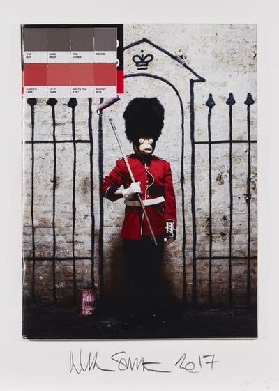 Nick Smith, 'Banksy, Time Out', 2011