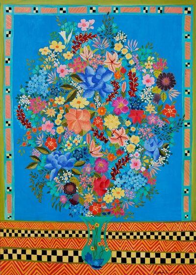 Hepzibah Swinford, 'Blue Roses', 2014